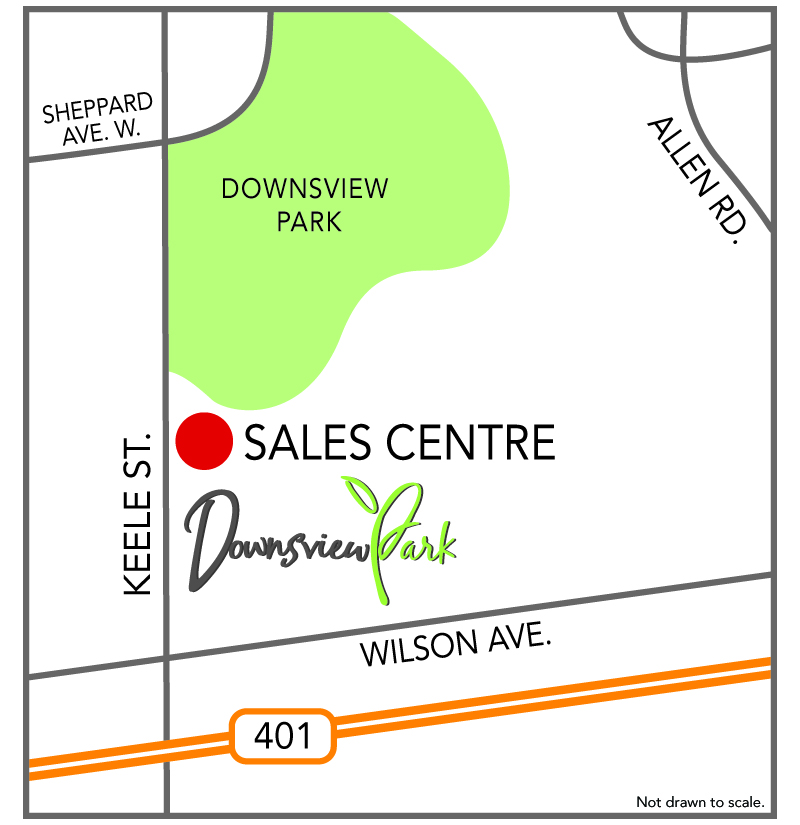 DOWNSVIEW PARK TOWNS SALES CENTER