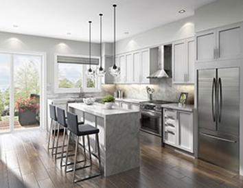 downsview park townhomes kitchen
