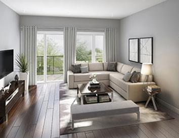 downsview park townhomes living room